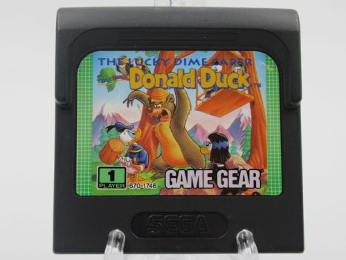 The lucky dime caper starring donald duck (Game Gear)